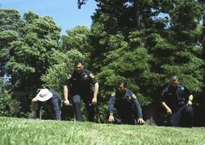 San Rafael Police and Kirsch Doing Pilgrimage